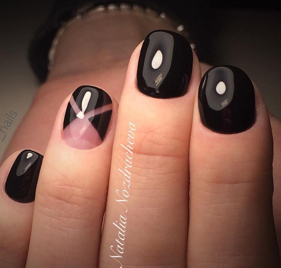 black nail art-nails-nailart-nail art-nail art designs-nail designs-oje desenleri (24)