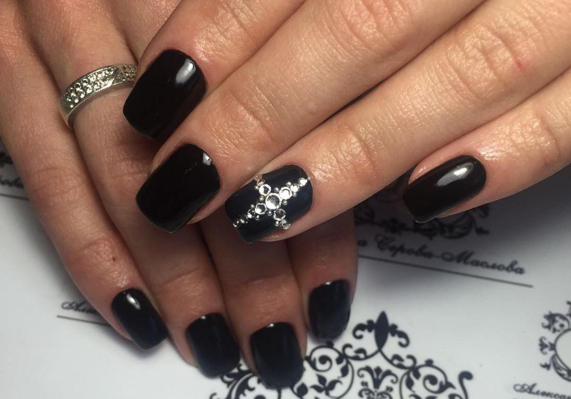 black nail art-nails-nailart-nail art-nail art designs-nail designs-oje desenleri (27)