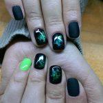 black nail art-nails-nailart-nail art-nail art designs-nail designs-oje desenleri (30)