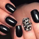 black nail art-nails-nailart-nail art-nail art designs-nail designs-oje desenleri (32)