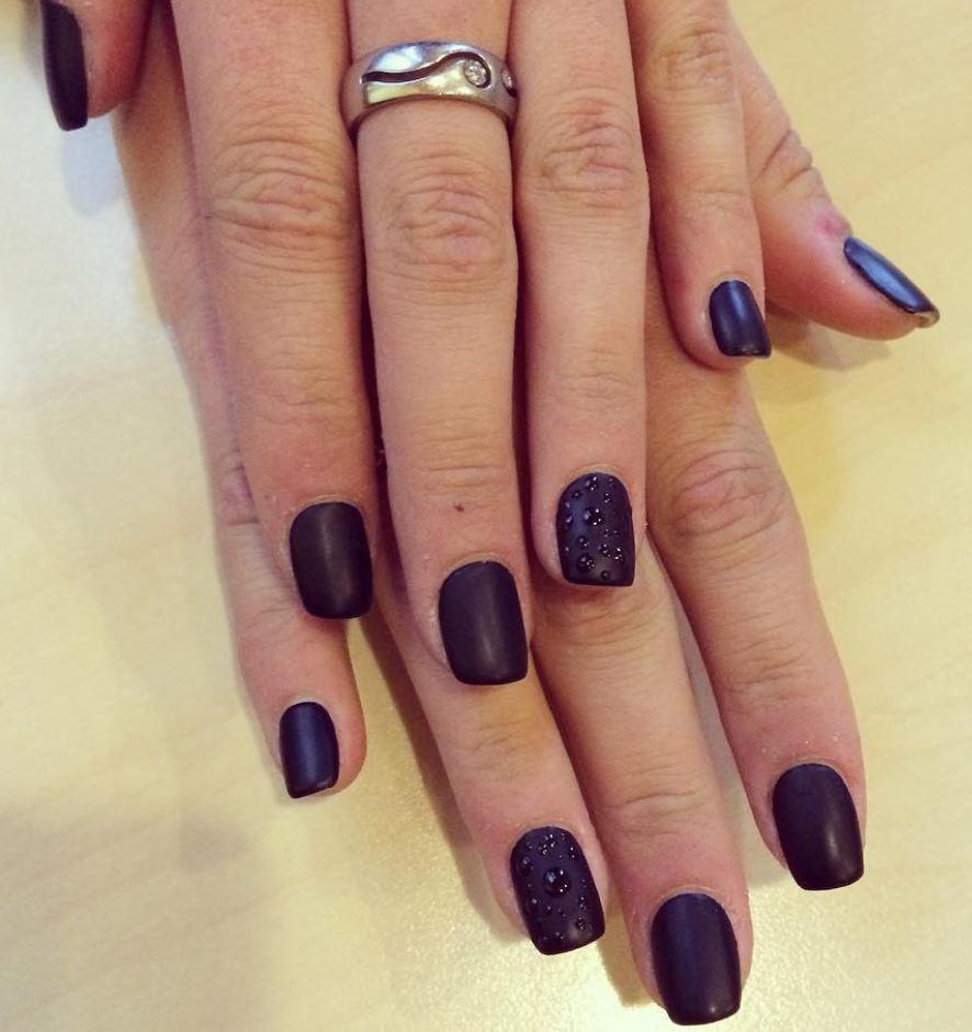 black nail art-nails-nailart-nail art-nail art designs-nail designs-oje desenleri (33)