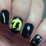 black nail art-nails-nailart-nail art-nail art designs-nail designs-oje desenleri (34)