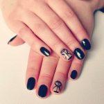 black nail art-nails-nailart-nail art-nail art designs-nail designs-oje desenleri (38)