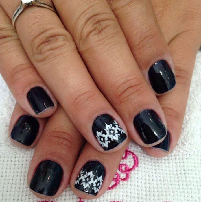 black nail art-nails-nailart-nail art-nail art designs-nail designs-oje desenleri (43)