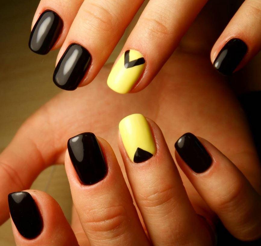 black nail art-nails-nailart-nail art-nail art designs-nail designs-oje desenleri (44)