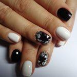black nail art-nails-nailart-nail art-nail art designs-nail designs-oje desenleri (45)