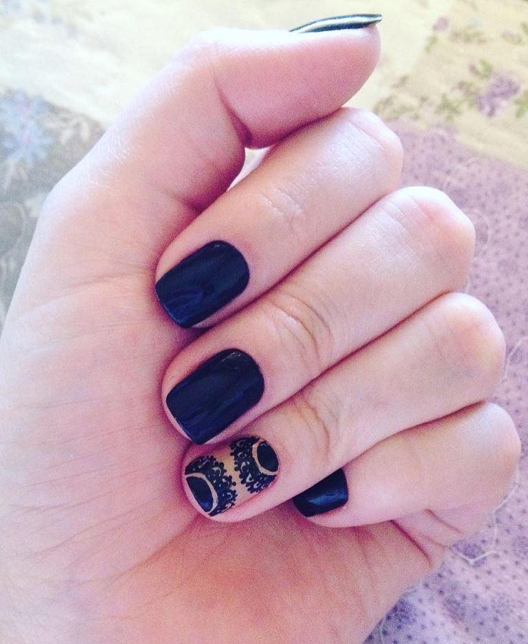 black nail art-nails-nailart-nail art-nail art designs-nail designs-oje desenleri (6)