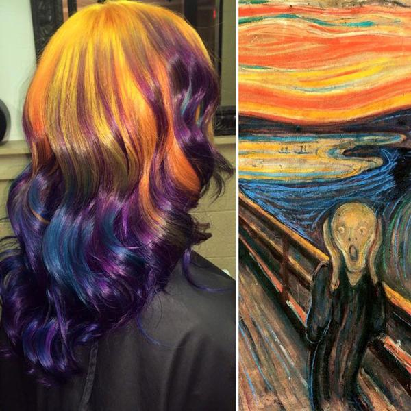 Bu Yılın Modası Renkli Saçlar