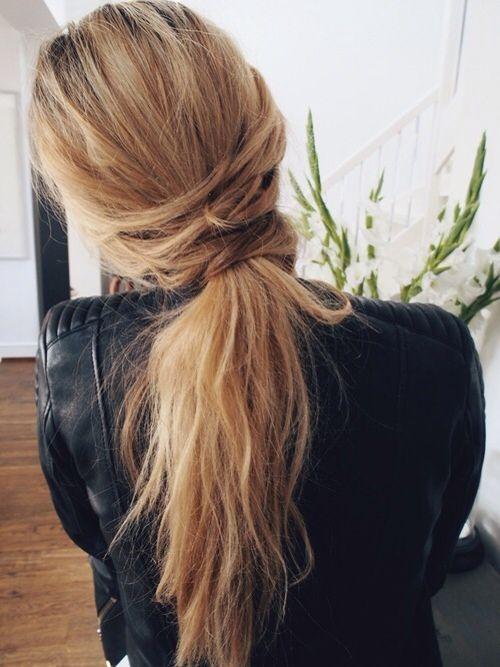 En Güzel At Kuyruğu Saç Modelleri 2016