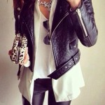 En Güzel Bayan Deri Ceket Modelleri