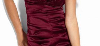 En Güzel Bordo Abiye Modelleri – Gece Elbiseleri