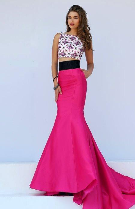 İşte En Gözde Abiye Elbise Modelleri: Geometrik Desenler