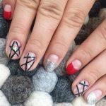 red nail art-white nail art-nail art-nail art designs-nailart-nails (11)