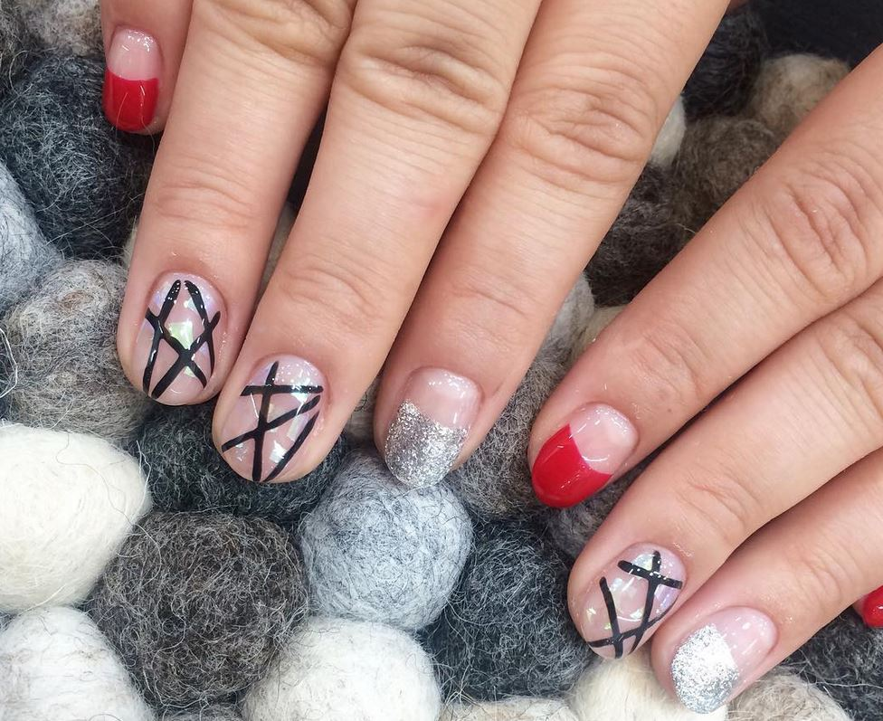 red nail art-white nail art-nail art-nail art designs-nailart-nails (11)