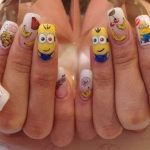 red nail art-white nail art-nail art-nail art designs-nailart-nails (15)
