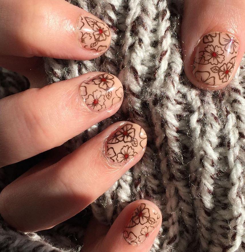 red nail art-white nail art-nail art-nail art designs-nailart-nails (18)