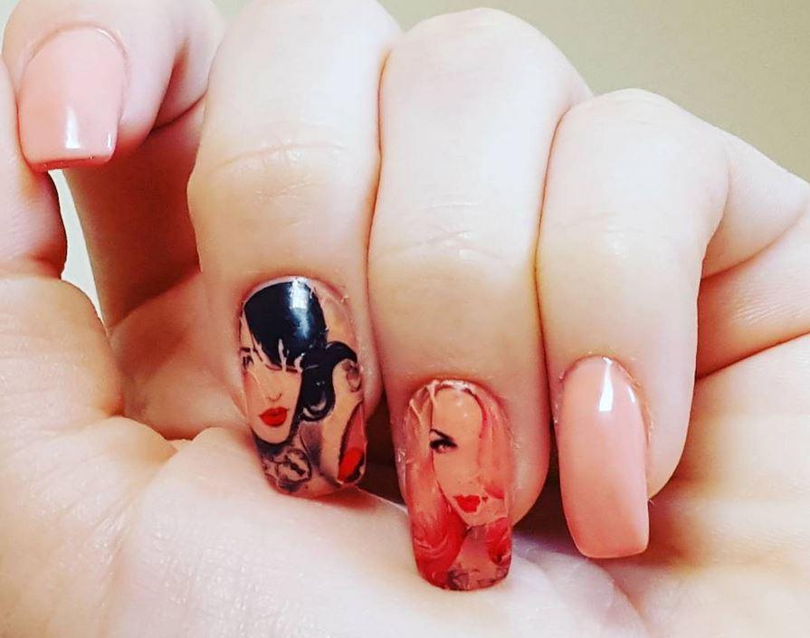 red nail art-white nail art-nail art-nail art designs-nailart-nails (20)