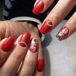 red nail art-white nail art-nail art-nail art designs-nailart-nails (24)