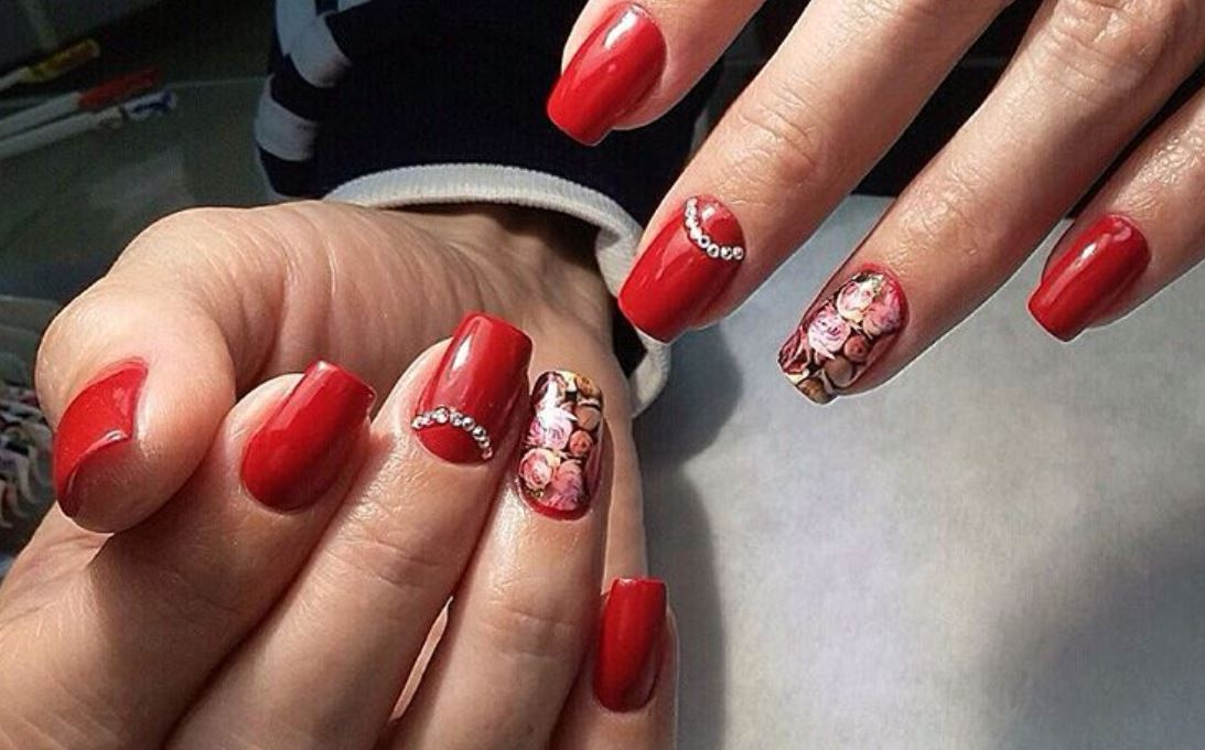 red nail art-white nail art-nail art-nail art designs-nailart-nails (24)