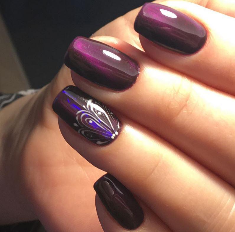 red nail art-white nail art-nail art-nail art designs-nailart-nails (36)