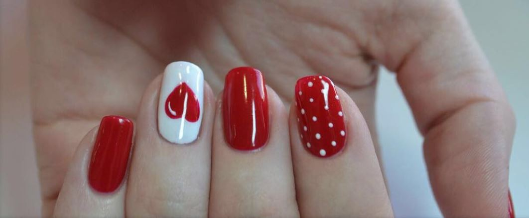 red nail art-white nail art-nail art-nail art designs-nailart-nails (42)
