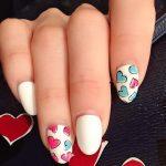 red nail art-white nail art-nail art-nail art designs-nailart-nails (44)