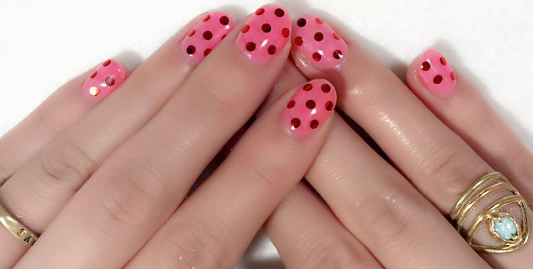 red nail art-white nail art-nail art-nail art designs-nailart-nails (50)
