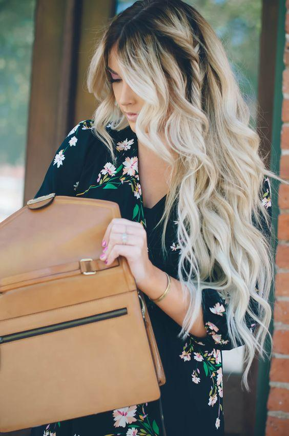 Uzun Dalgalı Saç Modelleri