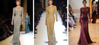 Uzun Kollu Abiye Modelleri – Gece Elbiseleri