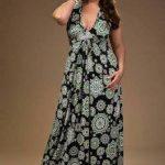 2016  Yazlık Büyük Beden Elbise Modelleri (9)