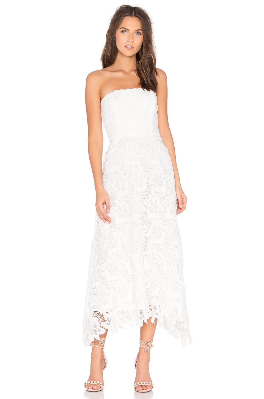 2017 Beyaz Dantel Abiye Elbise Modelleri