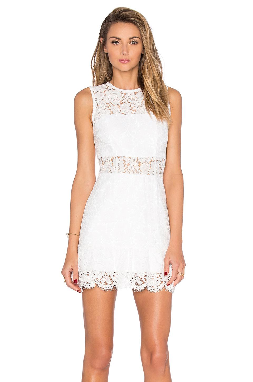 BeyazKısa Dantel Abiye Elbise Modelleri 2017 2018