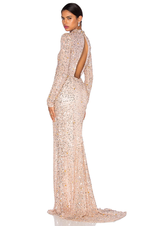 Işıl Işıl payetli Abiye elbise modelleri (14)