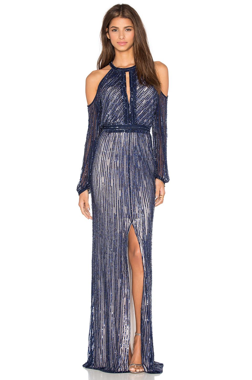 Işıl Işıl payetli Abiye elbise modelleri (5)
