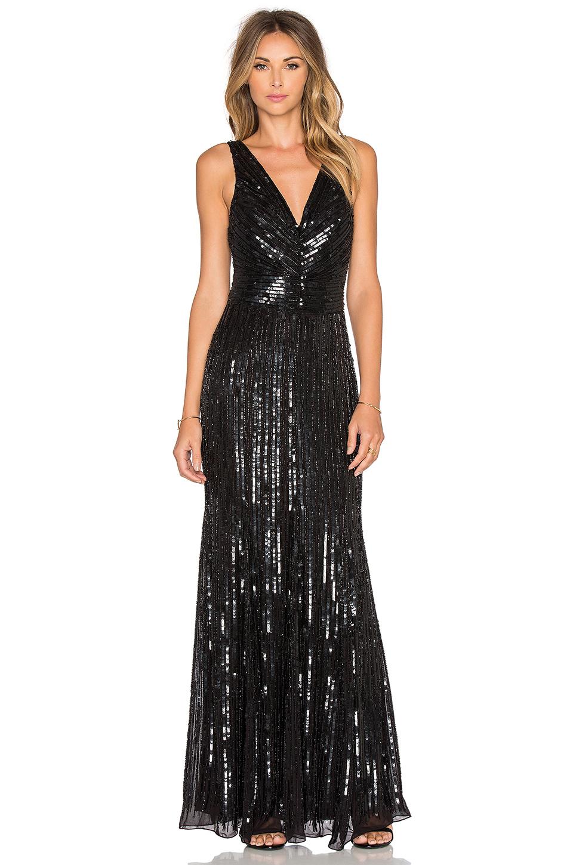 Işıl Işıl payetli Abiye elbise modelleri (6)