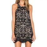 Siyah Kısa Dantel Abiye Elbise Modelleri ve Gece Elbiseleri