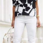 Omuz Dekolteli Bluz Modelleri ve Kombinleri - Omzu Açık Bluz