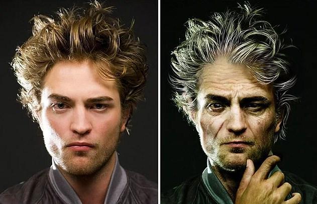 Ünlülerin Yaşlanmış Halleri: Robert Pattinson