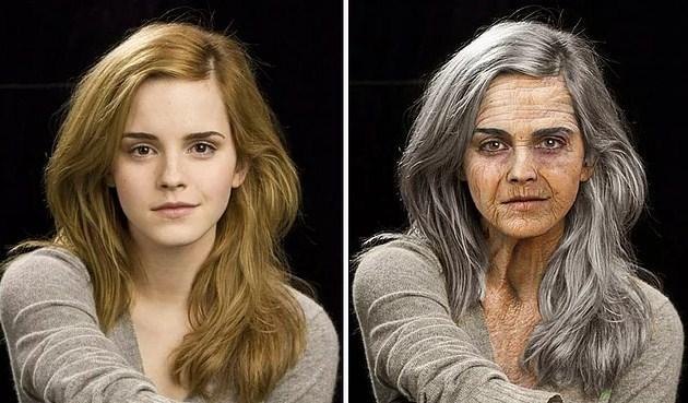 Ünlülerin Yaşlanmış Halleri: Emma Watson