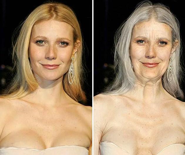 Ünlülerin Yaşlanmış Halleri: Gwyneth Paltrow