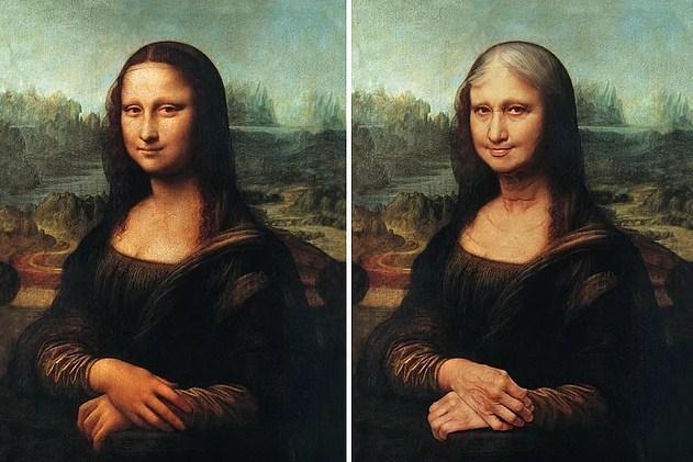 Ünlülerin Yaşlanmış Halleri: Mona Lisa