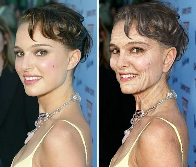 Ünlülerin Yaşlanmış Halleri: Natalie Portman