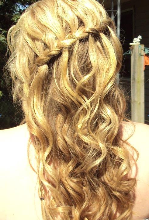 Örgü Dalgalı Saç Modelleri - Prom Hairstyles Trends