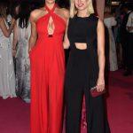 2016 CFDA Moda ödülleri Kırmızı Halı Elbiseleri; IRINA SAHYK and MISHA NONOO