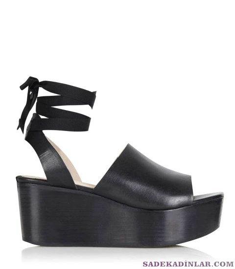 Dolgu Topuk Ayakkabı Modelleri - Topshop 100$