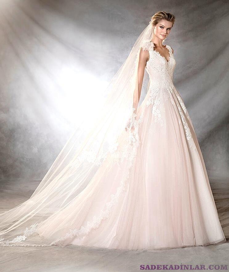 En Güzel Muhteşem Pronovias Gelinlik Modelleri  - Sade Kadınlar