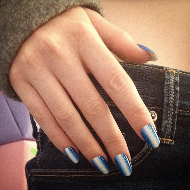 En Moda Tırnak Süsleme Modelleri - Nail Art (13)