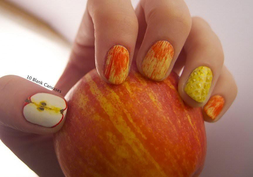 En Moda Tırnak Süsleme Modelleri - Nail Art (14)