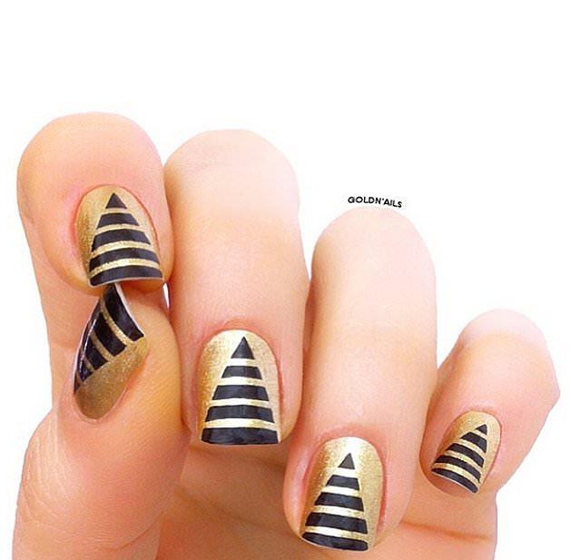 En Moda Tırnak Süsleme Modelleri - Nail Art (8)