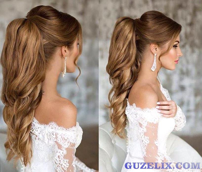 Gelin Saçı - En Güzel Gelin Saç Modelleri (17)
